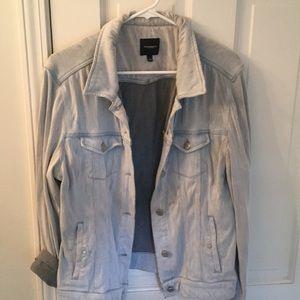 Liverpool distressed denim jacket